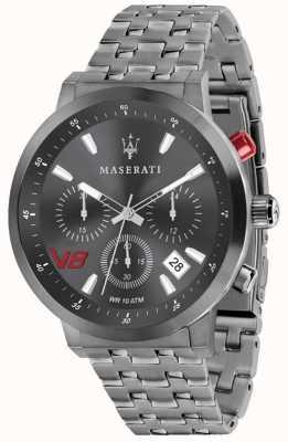 Maserati 男士GT 44毫米|灰色表盘灰色不锈钢手链 R8873134001