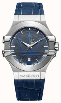 Maserati 男士潜水42毫米|不锈钢|蓝色表盘|蓝色表带 R8851108015
