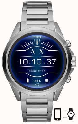 Armani Exchange 连接|智能手表|不锈钢手链 AXT2000