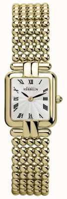Michel Herbelin 女士们|经典金| perles手表 17473/BP08