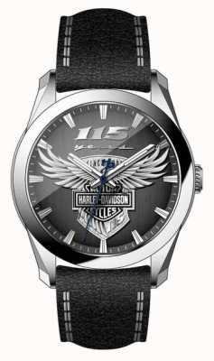 Harley Davidson 男士115周年限量版腕表 76A160