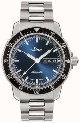 Sinn 104 st sa ib |不锈钢手链|蓝色表盘 104.013 BRACELET