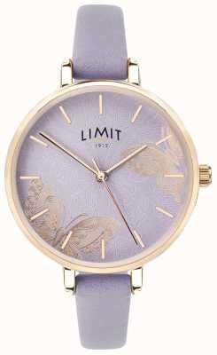 Limit |女士秘密花园手表| 高分辨率照片| CLIPARTO紫色蝴蝶表盘| 60015