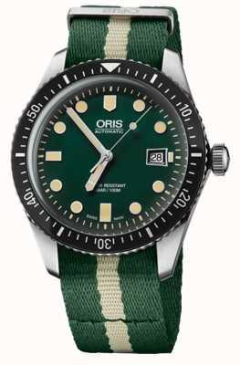 Oris 潜水员六十五自动手表 01 733 7720 4057-07 5 21 24FC