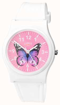 Limit |女士秘密花园手表|粉色蝴蝶表盘 60030.37