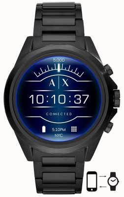 Armani Exchange 德雷克斯勒黑|不锈钢|智能手表 AXT2002