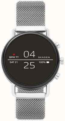 Skagen 连接falster 2不锈钢网智能手表 SKT5102