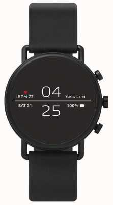Skagen 连接智能手表黑色硅胶 SKT5100