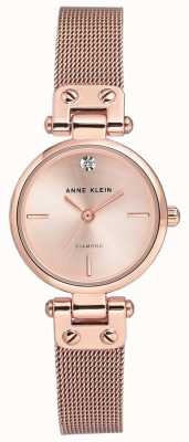 Anne Klein |女士电缆手表|玫瑰金色调| AK-N3002RGRG