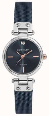 Anne Klein |女士电缆手表|海军色调| AK-N3003BLRT