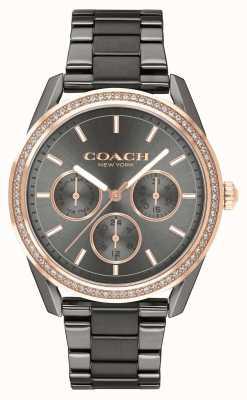 Coach |普雷斯顿手表|计时码表不锈钢表| 14503214