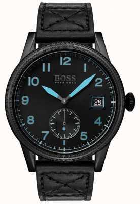 Hugo Boss |男装黑色遗产|黑色不锈钢| 1513672