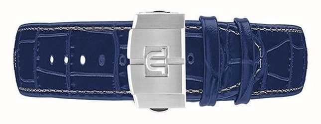 Maurice Lacroix 仅限Aikon 44毫米自动计时码表蓝色皮表带 ML740-005057-ML508-005008