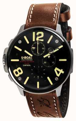 U-Boat Capsoil ss chrono机电 8111
