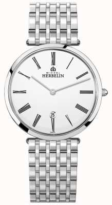 Michel Herbelin |男士| epsilon |超平不锈钢手链| 19416/B01N