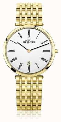 Michel Herbelin |男士| epsilon |超扁金手链| 19416/BP01N