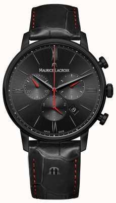 Maurice Lacroix Eliros黑色pvd镀黑色皮革表带 EL1098-PVB01-310-1