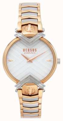 Versus Versace |女士双色手链|白色表盘| VSPLH0719