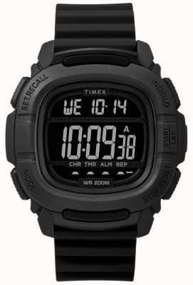 Timex |提振冲击黑色数字| TW5M26100SU