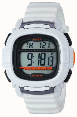 Timex |提振冲击白色数字| TW5M26400SU