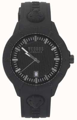 Versus Versace |女士黑色手表|硅带| VSPOY2318