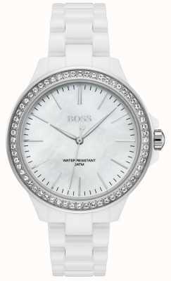Hugo Boss |女士白色手链|白色表盘| 1502454