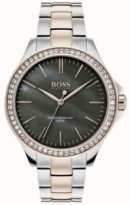 Hugo Boss |女式双色不锈钢手链| 1502452