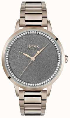 Hugo Boss |女性暮光之城手表|不锈钢|灰色表盘 1502463