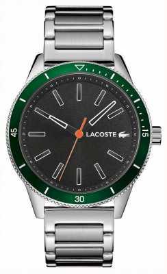 Lacoste |男士基韦斯特|不锈钢手链|灰色表盘 2011009