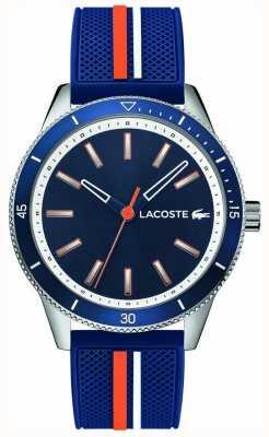 Lacoste |男士基韦斯特|蓝色硅胶表带|蓝色表盘| 2011007
