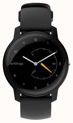 Withings 移动活动跟踪器黑色和黄色 HWA06-MODEL 1-ALL-INT
