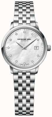 Raymond Weil |女性toccata钻石|不锈钢手链| 5985-ST-97081