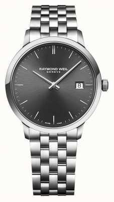 Raymond Weil |男士toccata |不锈钢手链|灰色表盘| 5485-ST-60001