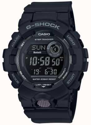 Casio |黑色数字橡胶手表| GBD-800-1BER