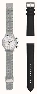 Breil |男士不锈钢网手表|额外皮表带| TW1806
