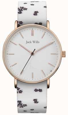 Jack Wills |女士沙丘白硅|白色表盘| JW018FLWH