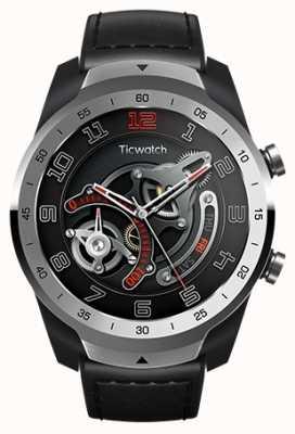 TicWatch 亲|液态金属银智能手表 WF12096-SILV