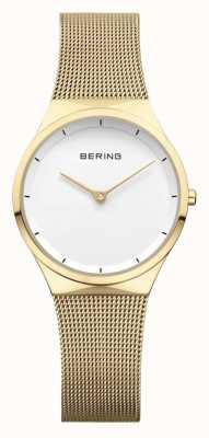 Bering  女装不锈钢玫瑰金网  12131-339
