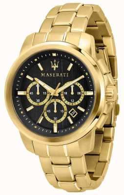 Maserati Successo男士镀金手表 R8873621013