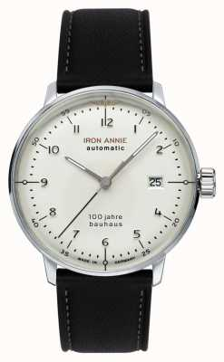 Junkers |铁安妮|鲍豪斯|自动|黑色皮革表带| 5056-1