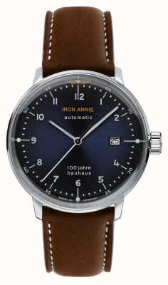 Junkers |铁安妮|鲍豪斯|自动|棕色皮革表带| 5056-3