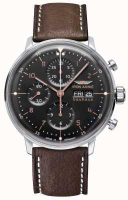 Junkers 铁安妮|鲍豪斯|自动|计时码表|黑色表盘 5018-2