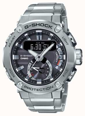 Casio G-steel g-shock蓝牙链接200m wr不锈钢 GST-B200D-1AER