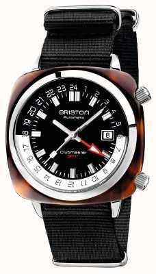Briston Clubmaster gmt限量版自动黑色北约表带 19842.SA.T.1.NB