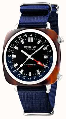 Briston Clubmaster gmt限量版 自动 蓝色北约表带 19842.SA.T.9.NNB