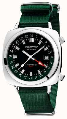 Briston Clubmaster gmt 限量版 |汽车 |绿色北约表带 19842.PS.G.10.NBG
