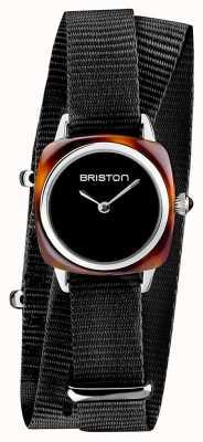Briston | clubmaster女士|黑色北约|醋酸乌龟| 19924.SA.T.1.NB