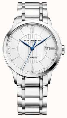 Baume & Mercier |男士classima |自动|不锈钢|银色表盘 BM0A10215