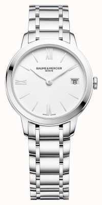 Baume & Mercier |女子经典|不锈钢手链|白色表盘| BM0A10335