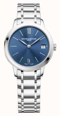 Baume & Mercier |女式|不锈钢|蓝色阳光表盘| M0A10477